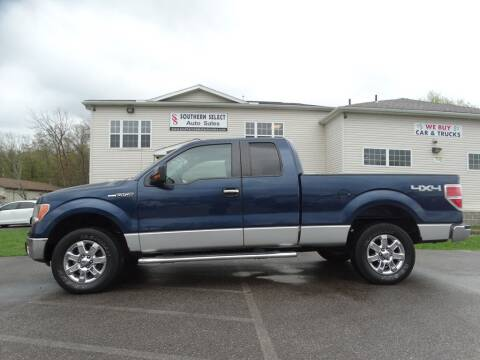 2013 Ford F-150 for sale at SOUTHERN SELECT AUTO SALES in Medina OH