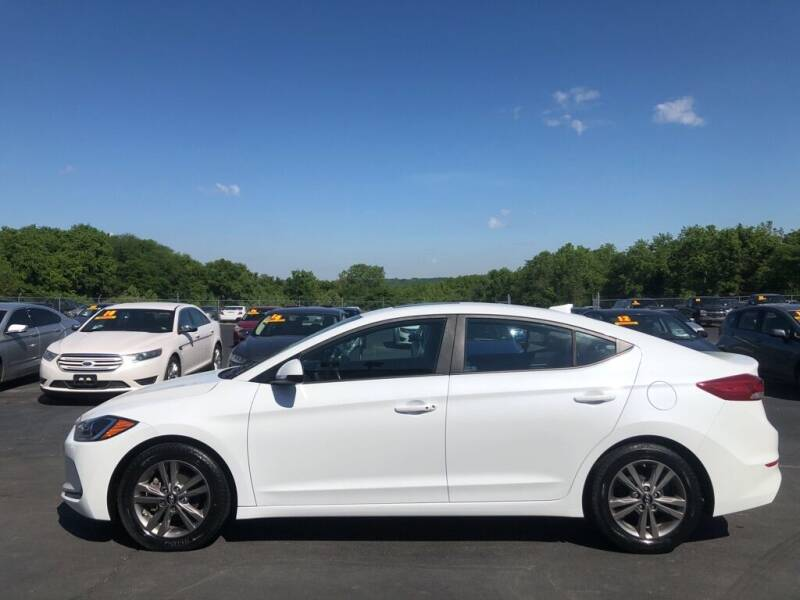 2017 Hyundai Elantra for sale at CARS PLUS CREDIT in Independence MO