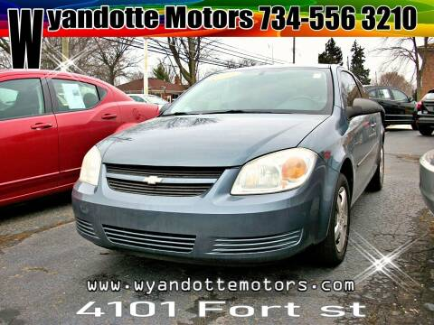 2006 Chevrolet Cobalt for sale at Wyandotte Motors in Wyandotte MI