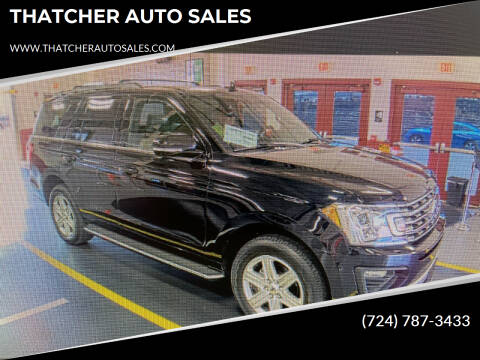 2019 Ford Expedition for sale at THATCHER AUTO SALES in Export PA
