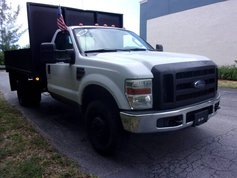 2008 Ford F-350 Super Duty for sale at Tropical Motors Cargo Vans and Car Sales Inc. in Pompano Beach FL