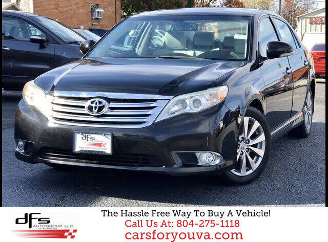 2012 Toyota Avalon for sale at DFS Auto Group of Richmond in Richmond VA