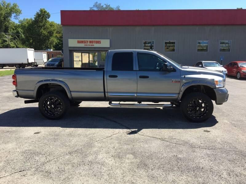 2009 Dodge Ram Pickup 3500 for sale at Ramsey Motors in Riverside MO