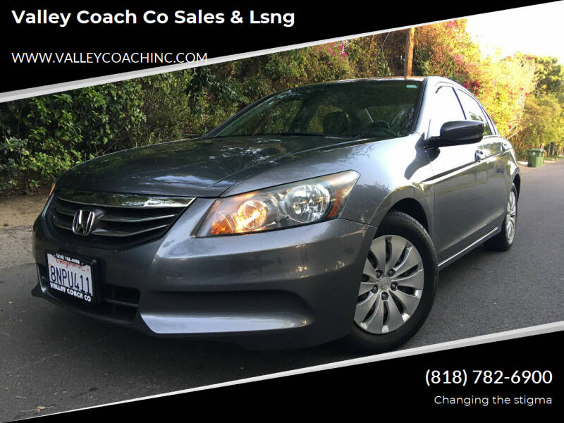 2011 Honda Accord for sale at Valley Coach Co Sales & Lsng in Van Nuys CA