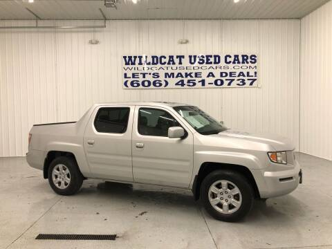 2006 Honda Ridgeline for sale at Wildcat Used Cars in Somerset KY