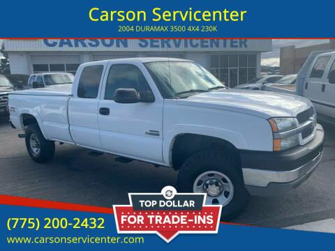 2004 Chevrolet Silverado 3500 for sale at Carson Servicenter in Carson City NV