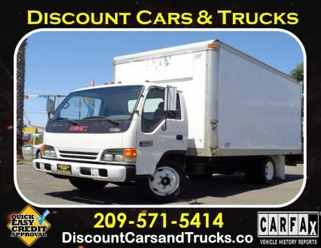 2001 GMC W5500 for sale at Discount Cars & Trucks in Modesto CA