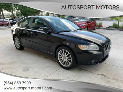 2010 Volvo S40 for sale at AUTOSPORT MOTORS in Lake Park FL