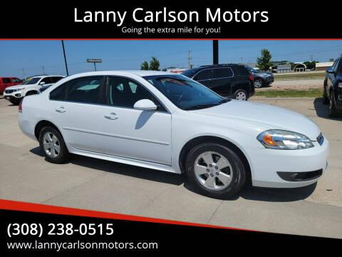 2010 Chevrolet Impala for sale at Lanny Carlson Motors in Kearney NE