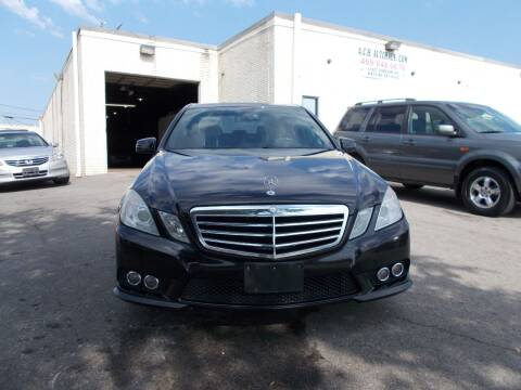 2010 Mercedes-Benz E-Class for sale at ACH AutoHaus in Dallas TX