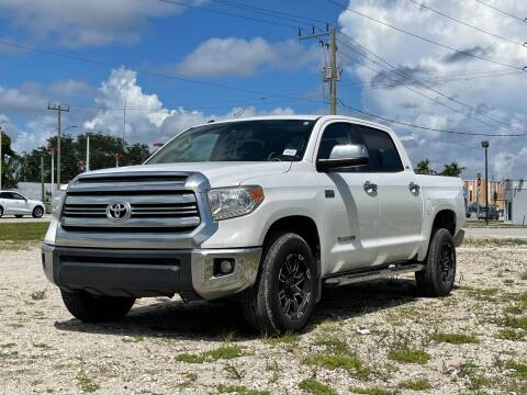 2017 Toyota Tundra for sale at Auto Direct of South Broward in Miramar FL