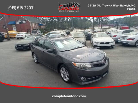 2012 Toyota Camry for sale at Complete Auto Center , Inc in Raleigh NC