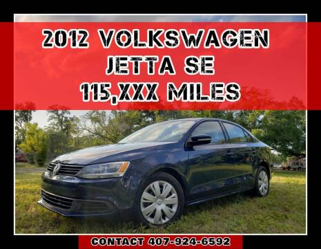 2012 Volkswagen Jetta for sale at AFFORDABLE ONE LLC in Orlando FL