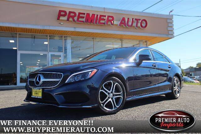 2015 Mercedes-Benz CLS for sale at PREMIER AUTO IMPORTS - Temple Hills Location in Temple Hills MD