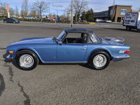 1973 Triumph TR6 for sale at Teddy Bear Auto Sales Inc in Portland OR