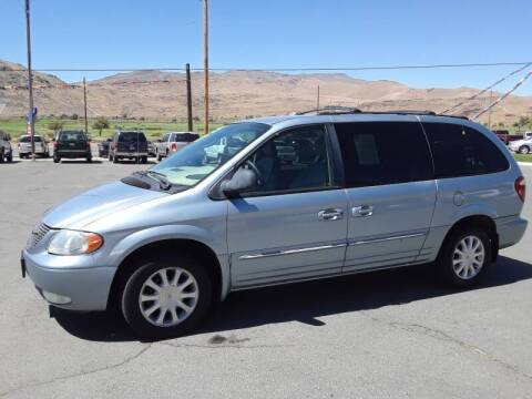 2003 Chrysler Town and Country for sale at Super Sport Motors LLC in Carson City NV