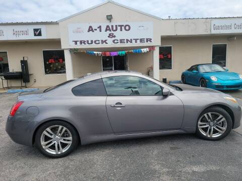 2008 Infiniti G37 for sale at A-1 AUTO AND TRUCK CENTER in Memphis TN