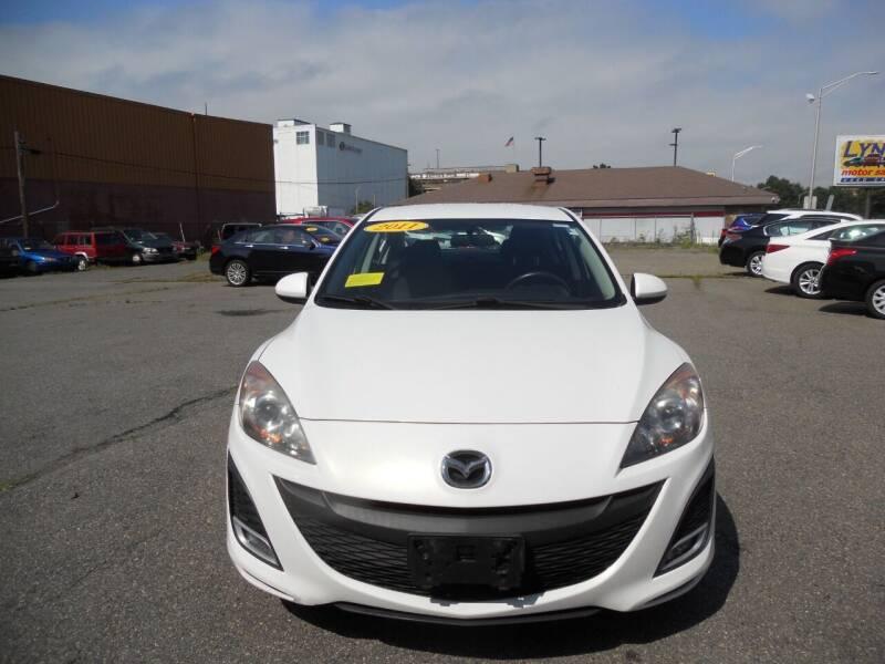 2011 Mazda MAZDA3 for sale at LYNN MOTOR SALES in Lynn MA