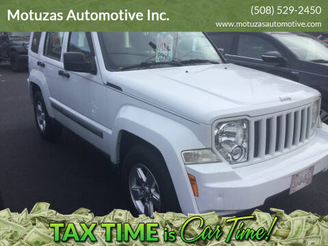 2011 Jeep Liberty for sale at Motuzas Automotive Inc. in Upton MA