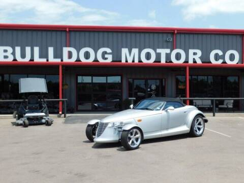 2000 Plymouth Prowler for sale at Bulldog Motor Company in Borger TX