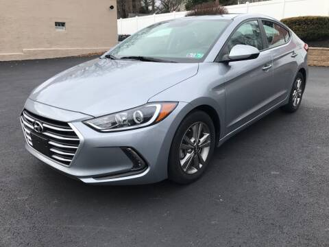 2017 Hyundai Elantra for sale at CARSTORE OF GLENSIDE in Glenside PA