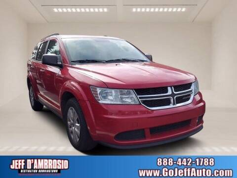 2017 Dodge Journey for sale at Jeff D'Ambrosio Auto Group in Downingtown PA