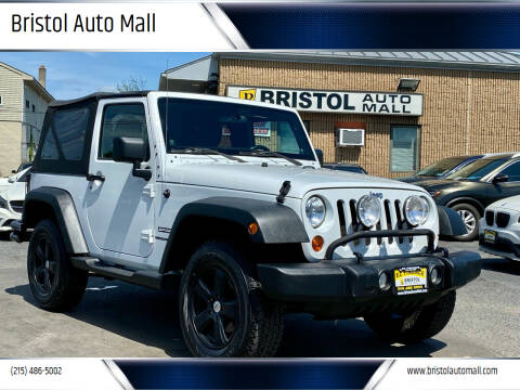 2011 Jeep Wrangler for sale at Bristol Auto Mall in Levittown PA