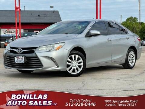 2016 Toyota Camry for sale at Bonillas Auto Sales in Austin TX