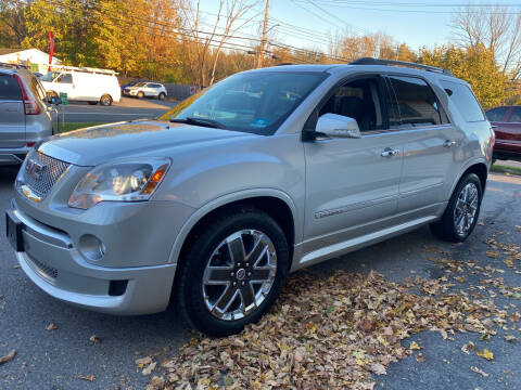2012 GMC Acadia for sale at COUNTRY SAAB OF ORANGE COUNTY in Florida NY