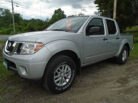 2015 Nissan Frontier for sale at Wimett Trading Company in Leicester VT
