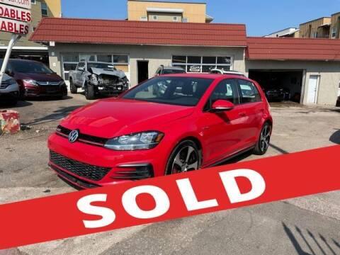 2019 Volkswagen Golf GTI for sale at ELITE MOTOR CARS OF MIAMI in Miami FL