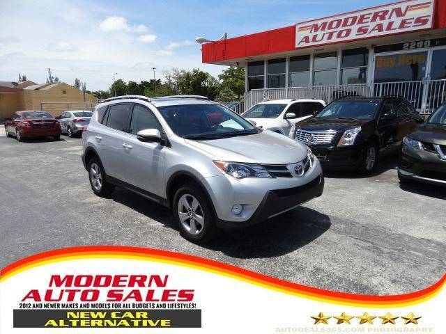 2015 Toyota RAV4 for sale at Modern Auto Sales in Hollywood FL