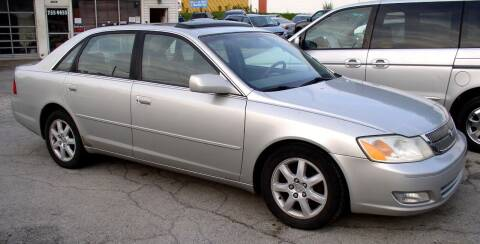 2002 Toyota Avalon for sale at Angelo's Auto Sales in Lowellville OH