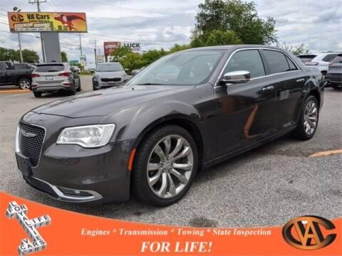 2017 Chrysler 300 for sale at VA Cars Inc in Richmond VA