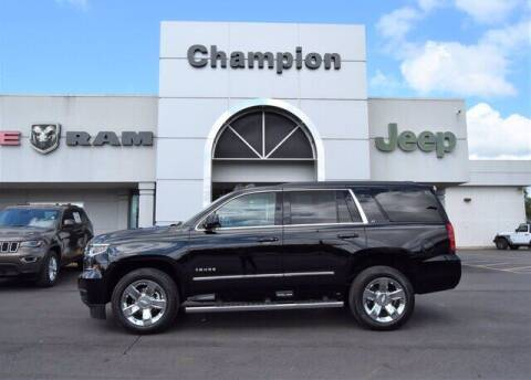 2019 Chevrolet Tahoe for sale at Champion Chevrolet in Athens AL