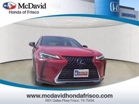 2019 Lexus UX 200 for sale at DAVID McDAVID HONDA OF IRVING in Irving TX