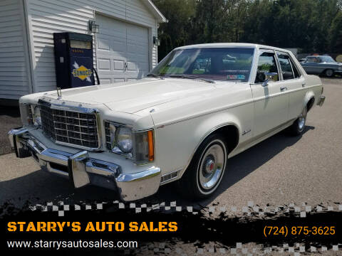 1975 Ford Granada for sale at STARRY'S AUTO SALES in New Alexandria PA