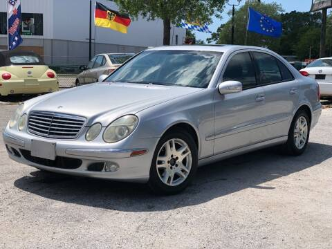 2003 Mercedes-Benz E-Class for sale at Pro Cars Of Sarasota Inc in Sarasota FL