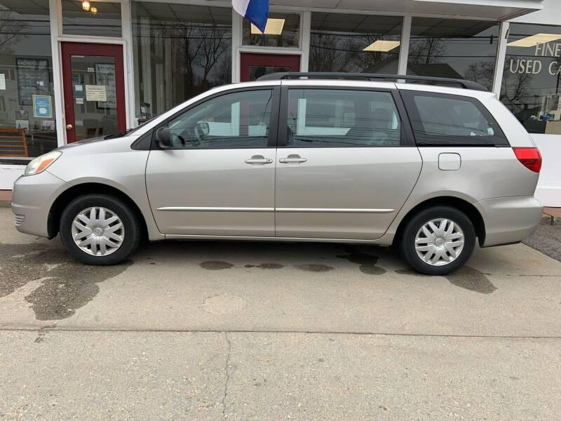 2004 Toyota Sienna for sale at O'Connell Motors in Framingham MA