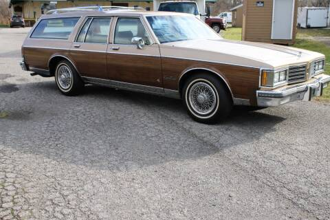 1985 Oldsmobile Custom Cruiser for sale at Great Lakes Classic Cars & Detail Shop in Hilton NY