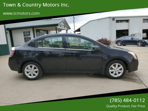 2009 Nissan Sentra for sale at Town & Country Motors Inc. in Meriden KS