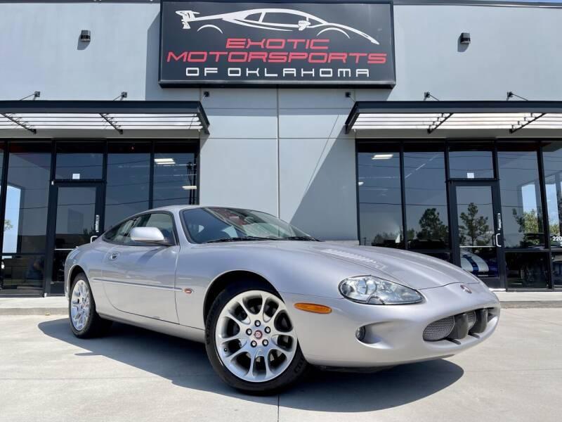 2000 Jaguar XKR for sale at Exotic Motorsports of Oklahoma in Edmond OK