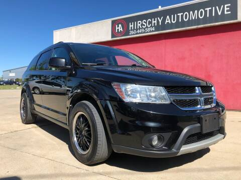 2012 Dodge Journey for sale at Hirschy Automotive in Fort Wayne IN