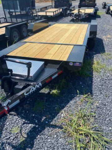 2021 CAM SUPERLINE 19FT SPLIT DECK XTRA WIDE for sale at STAUNTON TRACTOR INC - trailers in Staunton VA