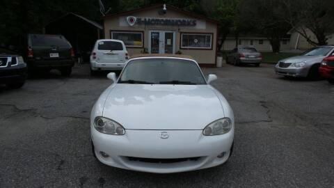 2002 Mazda MX-5 Miata for sale at E-Motorworks in Roswell GA