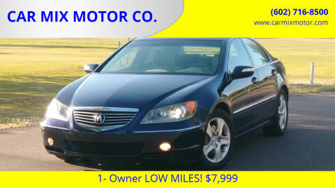 2005 Acura RL for sale at CAR MIX MOTOR CO. in Phoenix AZ