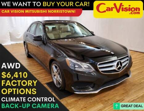 2014 Mercedes-Benz E-Class for sale at Car Vision Mitsubishi Norristown in Trooper PA