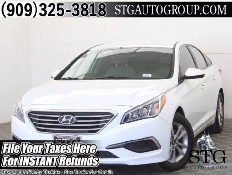 2017 Hyundai Sonata for sale at STG Auto Group in Montclair CA