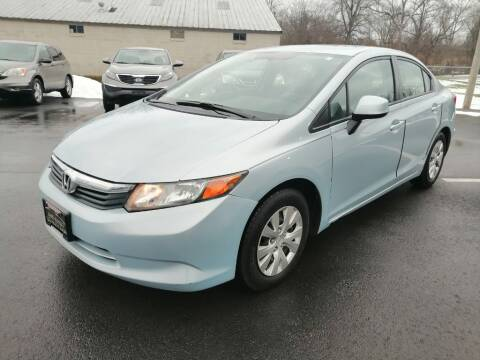 2012 Honda Civic for sale at KRIS RADIO QUALITY KARS INC in Mansfield OH