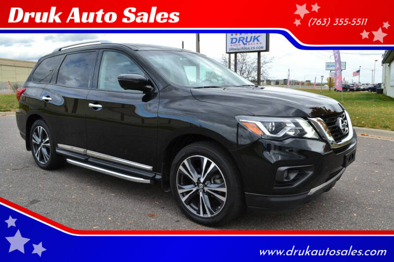 2018 Nissan Pathfinder for sale at Druk Auto Sales in Ramsey MN